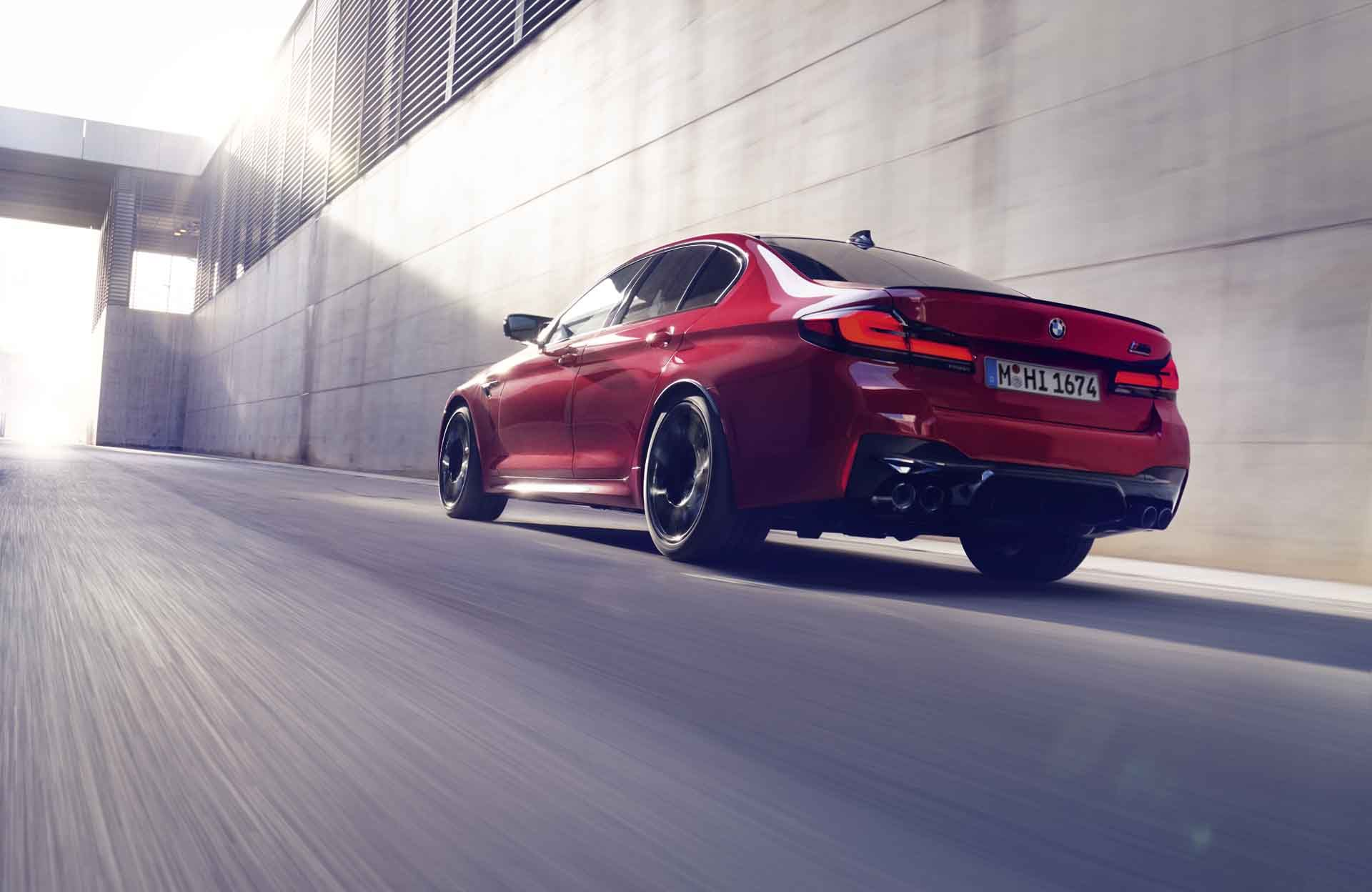 2021 Bmw M5 And M5 Competition Get Updated Tech Will Reach 189 Mph