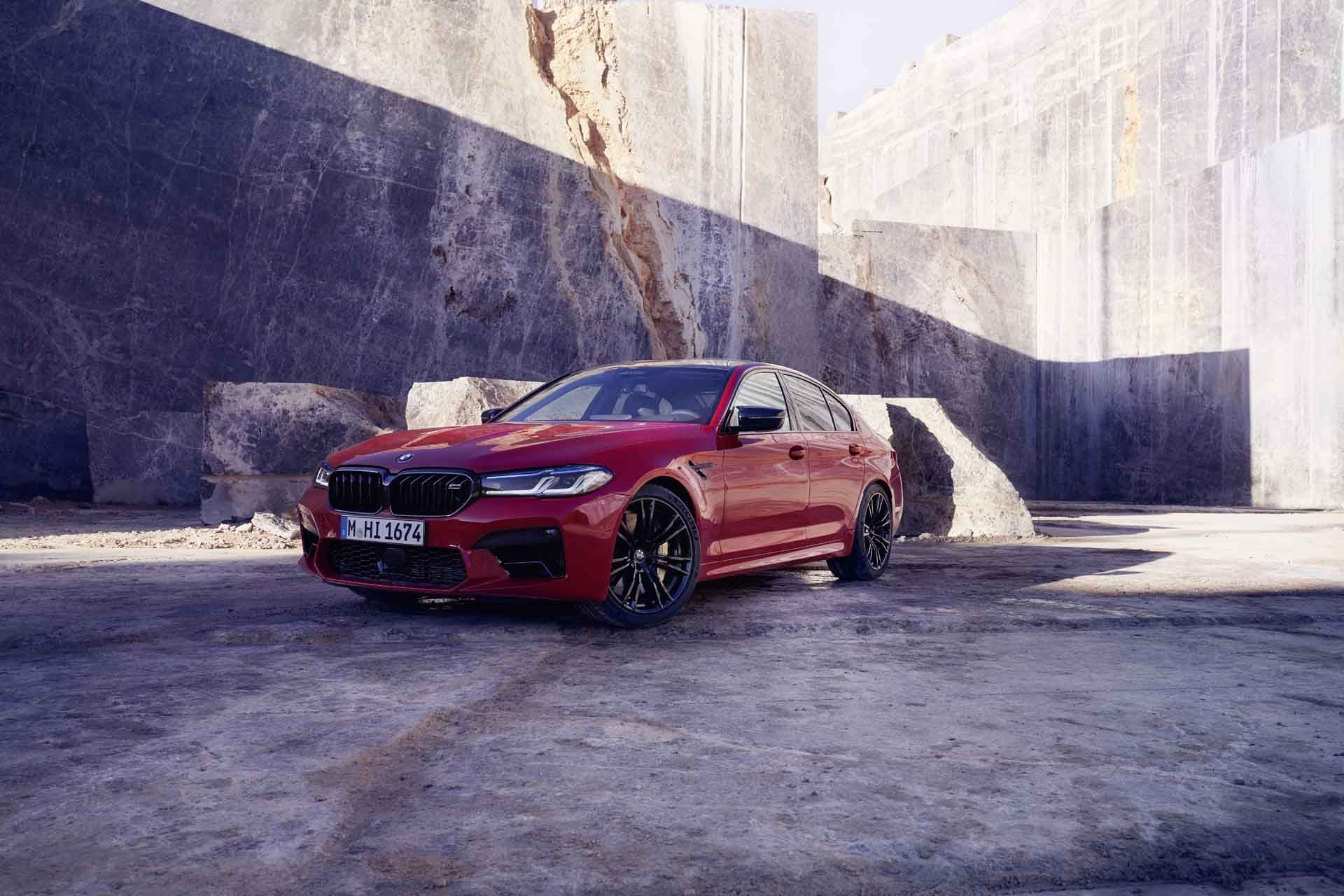 Bmw M5 And M5 Competition Get A Fresh Face For 2021