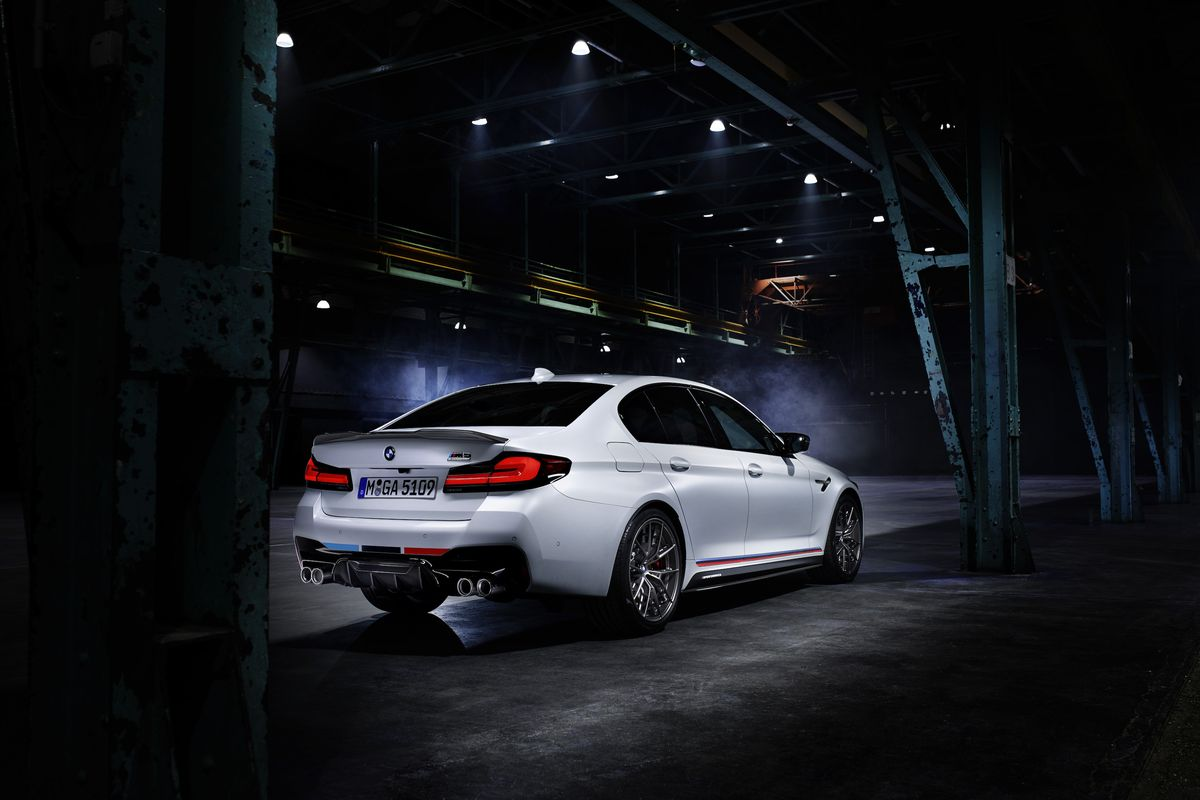 Bmw M Performance Parts Reveals Brakes And Suspension For M5