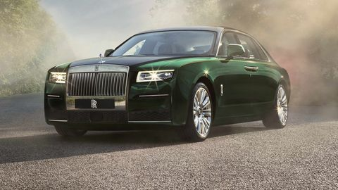rolls royce ghost extended