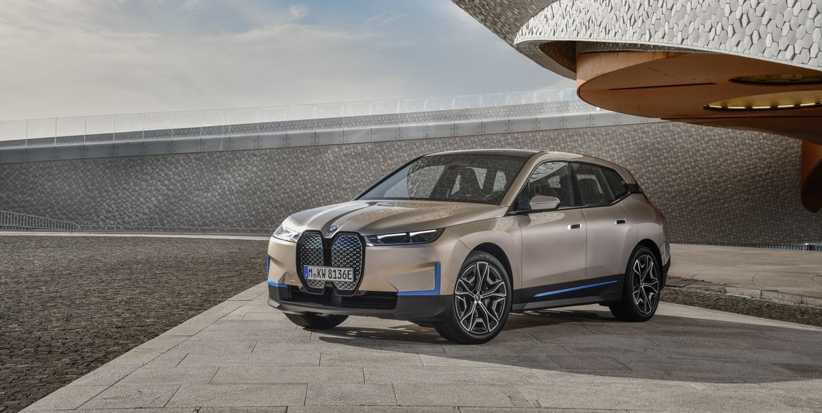 BMW's 500-hp iX SUV Flagship Completes the German EV Trifecta