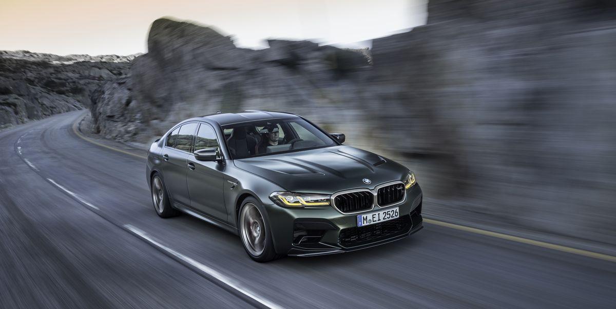 BMW's new four-door rocket ship