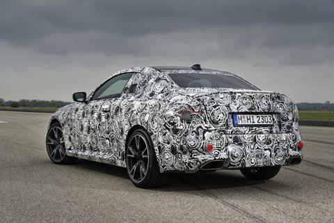 2022 bmw 2series coupe prototype