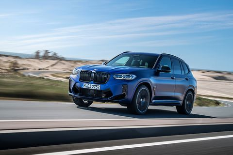 2022 bmw x3 m and x4 m