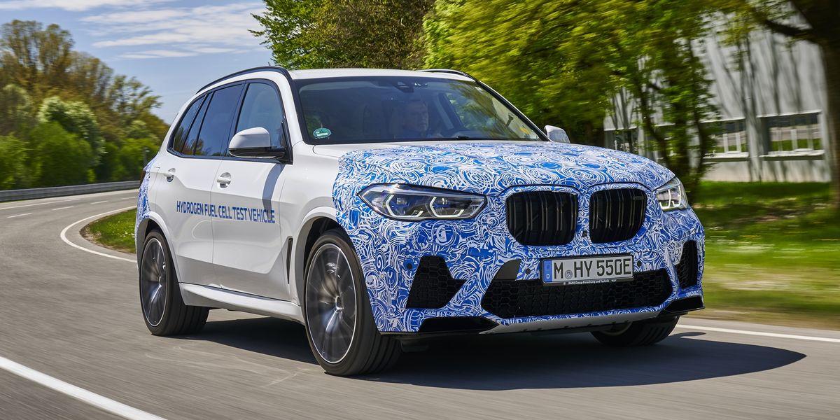 BMW i Hydrogen NEXT: El X5 de hidrógeno inicia sus pruebas