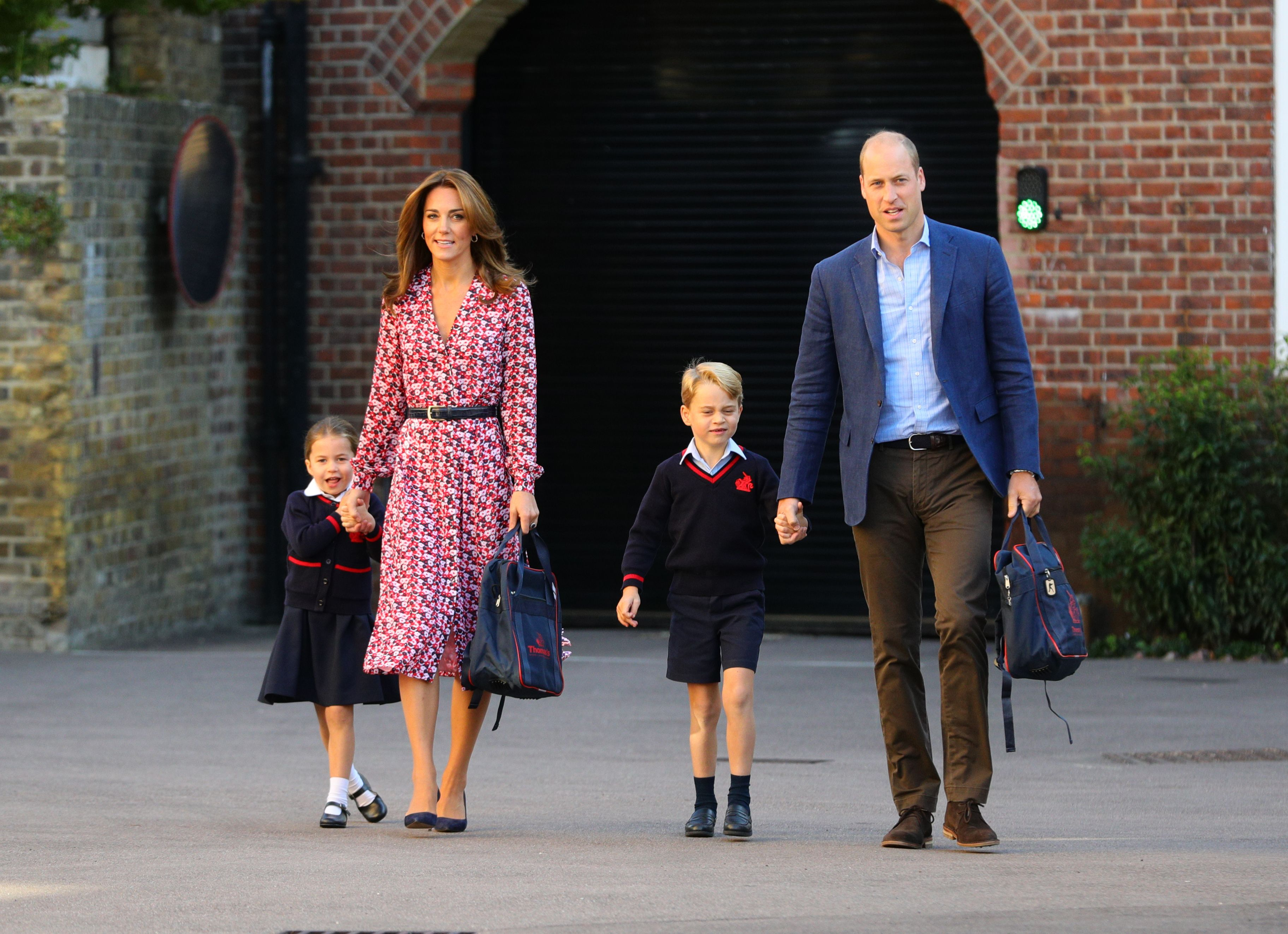 Princess Charlotte First Day Of School Pictures