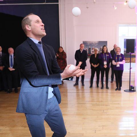 prince william juggling