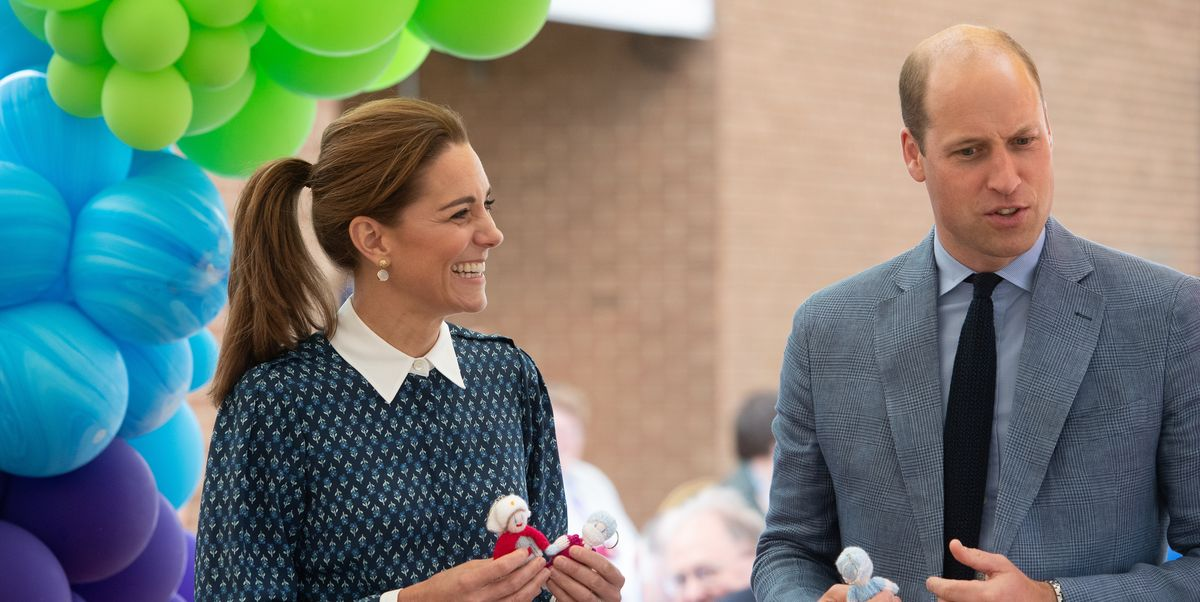 Kate Middleton & Prince William Make an In-Person Hospital Visit as Lockdown Lifts