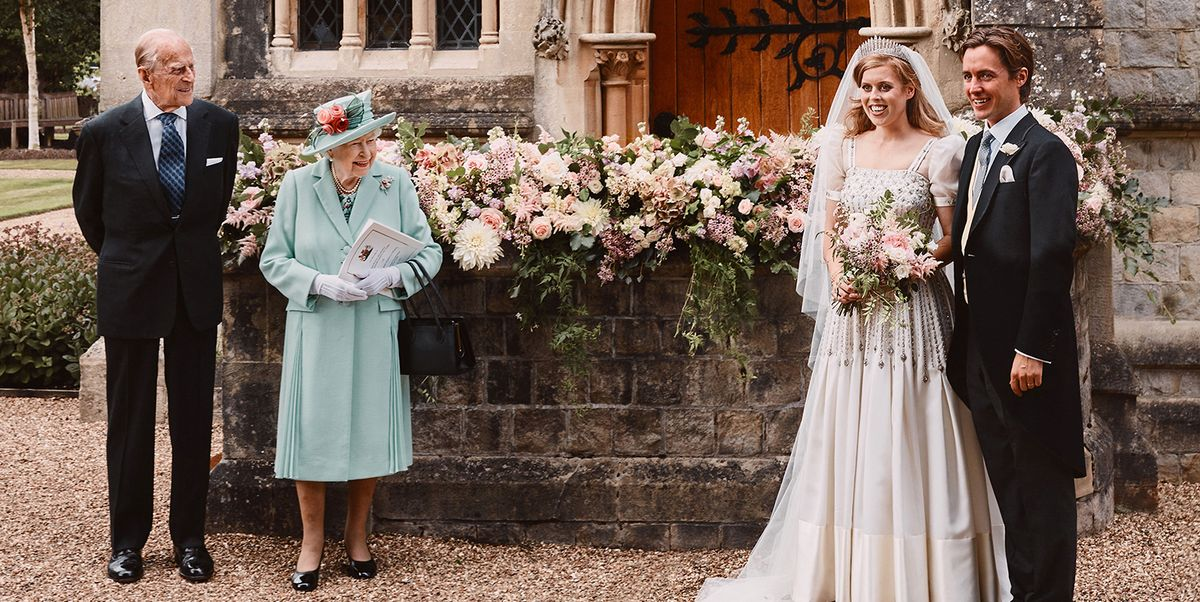 Princess Beatrice S Wedding Paid Tribute To Queen Elizabeth