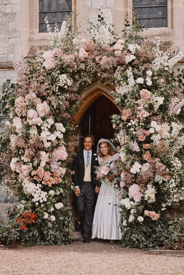Princess Beatrice S Pale Pink Wedding Bouquet Royal Wedding