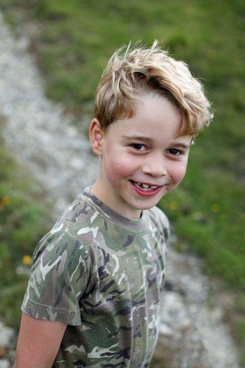 喬治王子 七歲生日