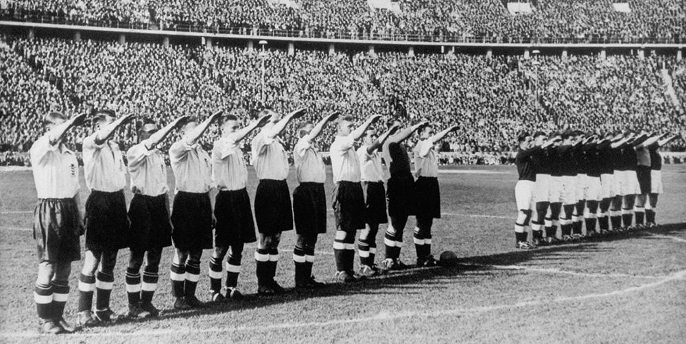 England Germany 1938 football match