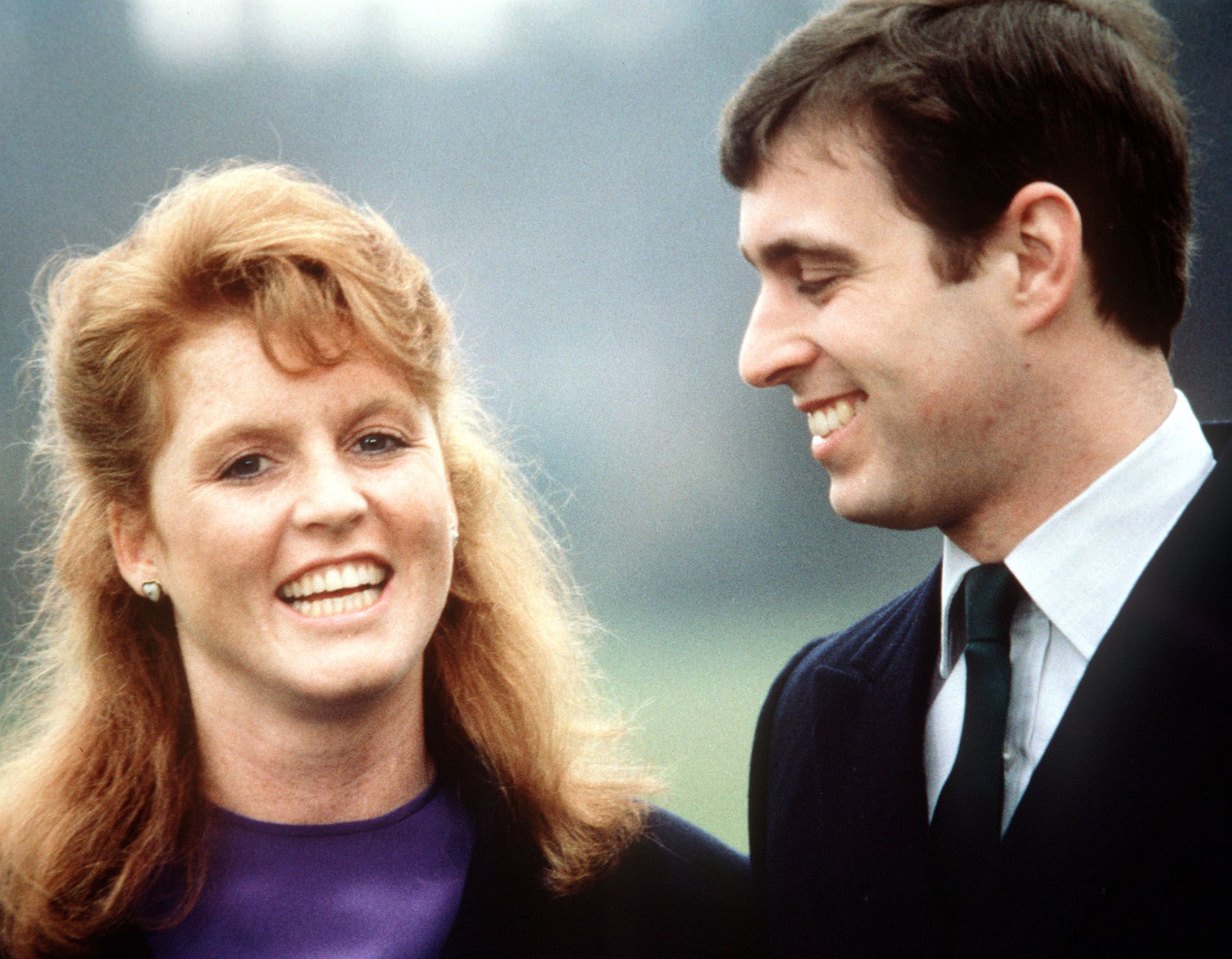 DUCHESS OF YORK/PRINCE ANDREW ENGAGEMENT