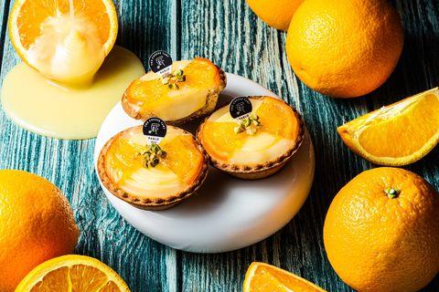 pablo新口味「芋頭麻糬起司塔」濃芋顆粒+q滑麻糬太罪惡啦!加碼日本同步「煉乳柳橙」迷你塔