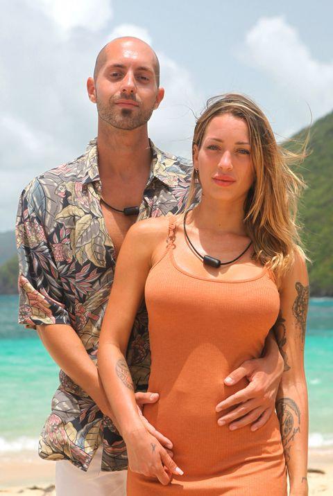 pablo y mayka, una de las parejas de 'la isla de las tentaciones 2'