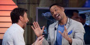 Will Smith Attends 'El Hormiguero' Tv Show