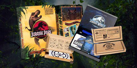 Jurassic World, Jurassic Park y Karate Kid Packs