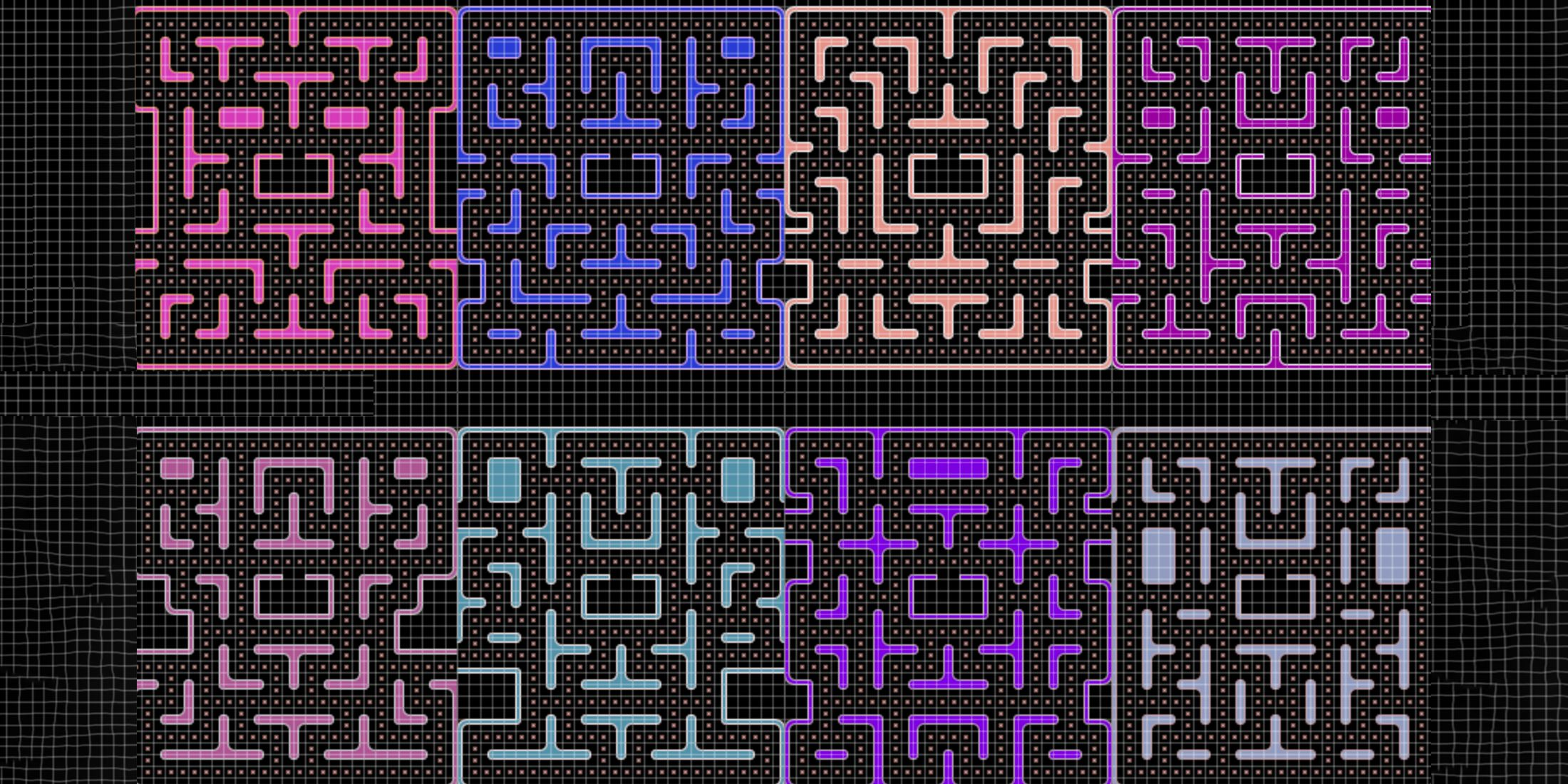 A Programmer Spent Months Generating Pac-Man Mazes. It Was Time Well Spent.