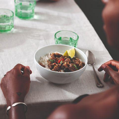 pad krapow met oesterzwam uit kookboek easy dinners