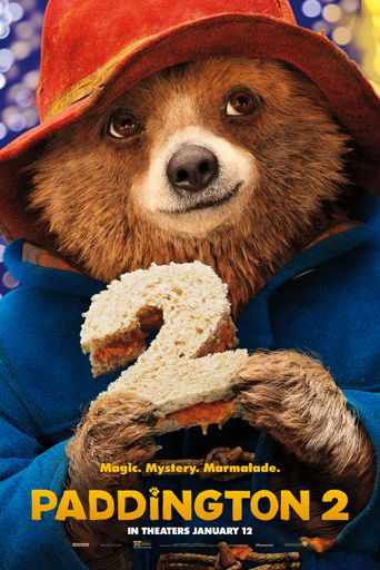 paddington 2 - movies based on books