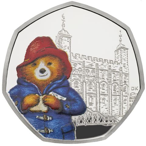 Two new Paddington Bear 50p coins have just been released by the Royal Mint