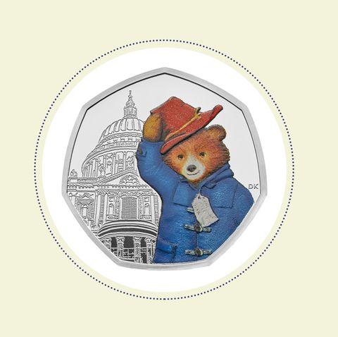 The Royal Mint Paddington Bear coin