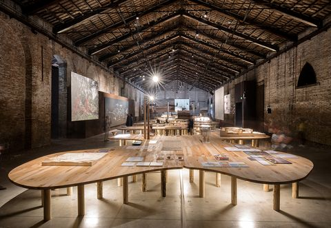 Curation of the Italian Pavilion at the 2018 Venice Biennale of Architecture