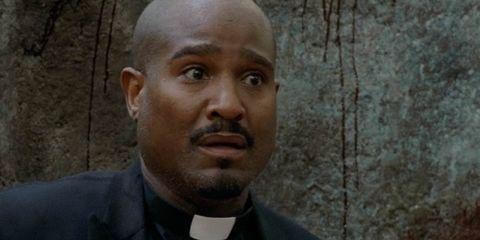 Walking Dead - padre Gabriel