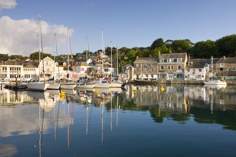 Padstow, a quaint fishing village with a picturesque harbour on the north coast of Cornwall, Cornwall, England, United Kingdom, Europe