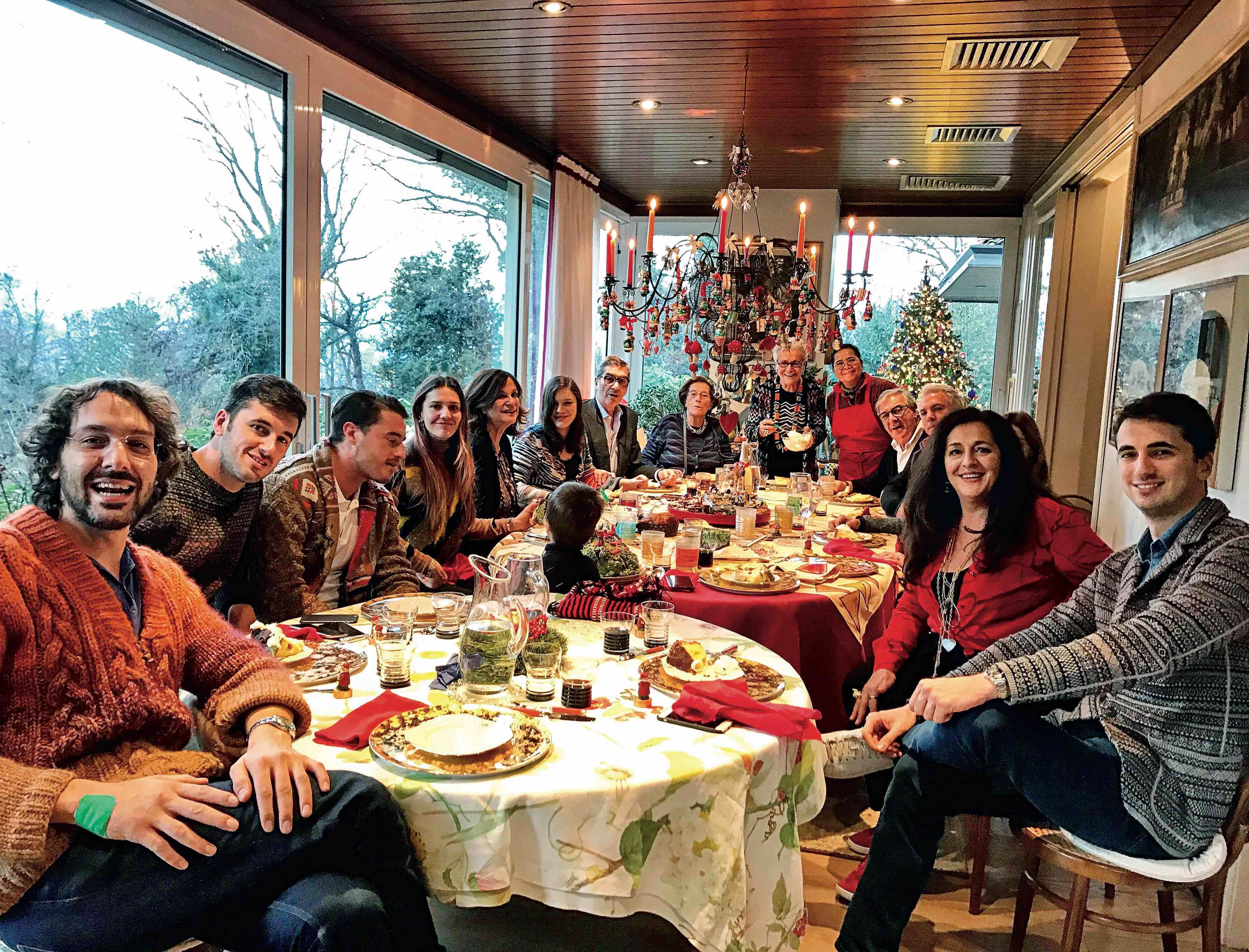 Christmas according to the Missoni family