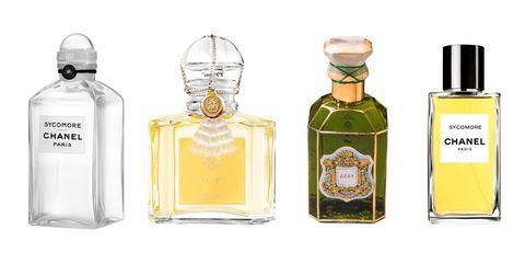 Perfume, Glass bottle, Bottle, Product, Liquid, Liqueur, Fluid, Cosmetics,