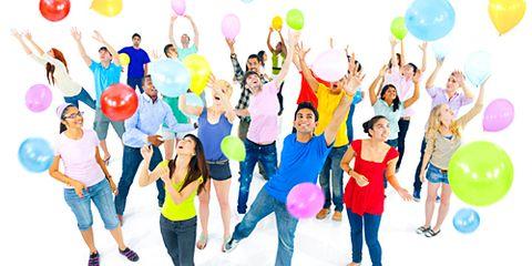 Yay Celebration with Balloons