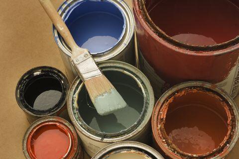 cómo deshacerse de la pintura