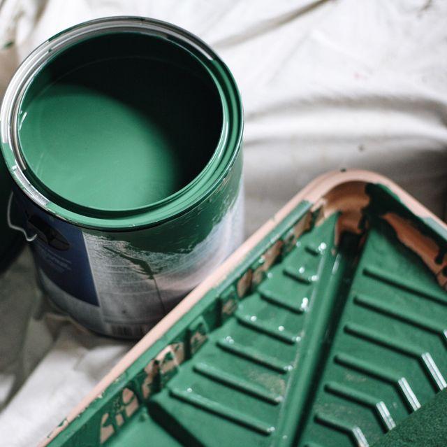 paint in pot