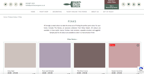 paint the town green website