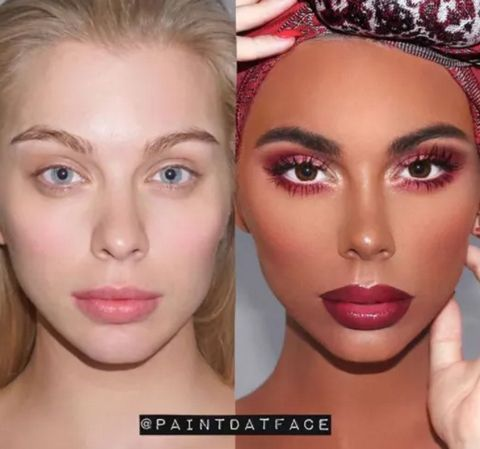 This Instagram Makeup Account Posted A Controversial Before And After
