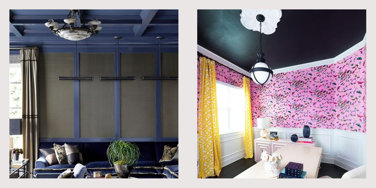 Perfect The Painted Ceiling Trend