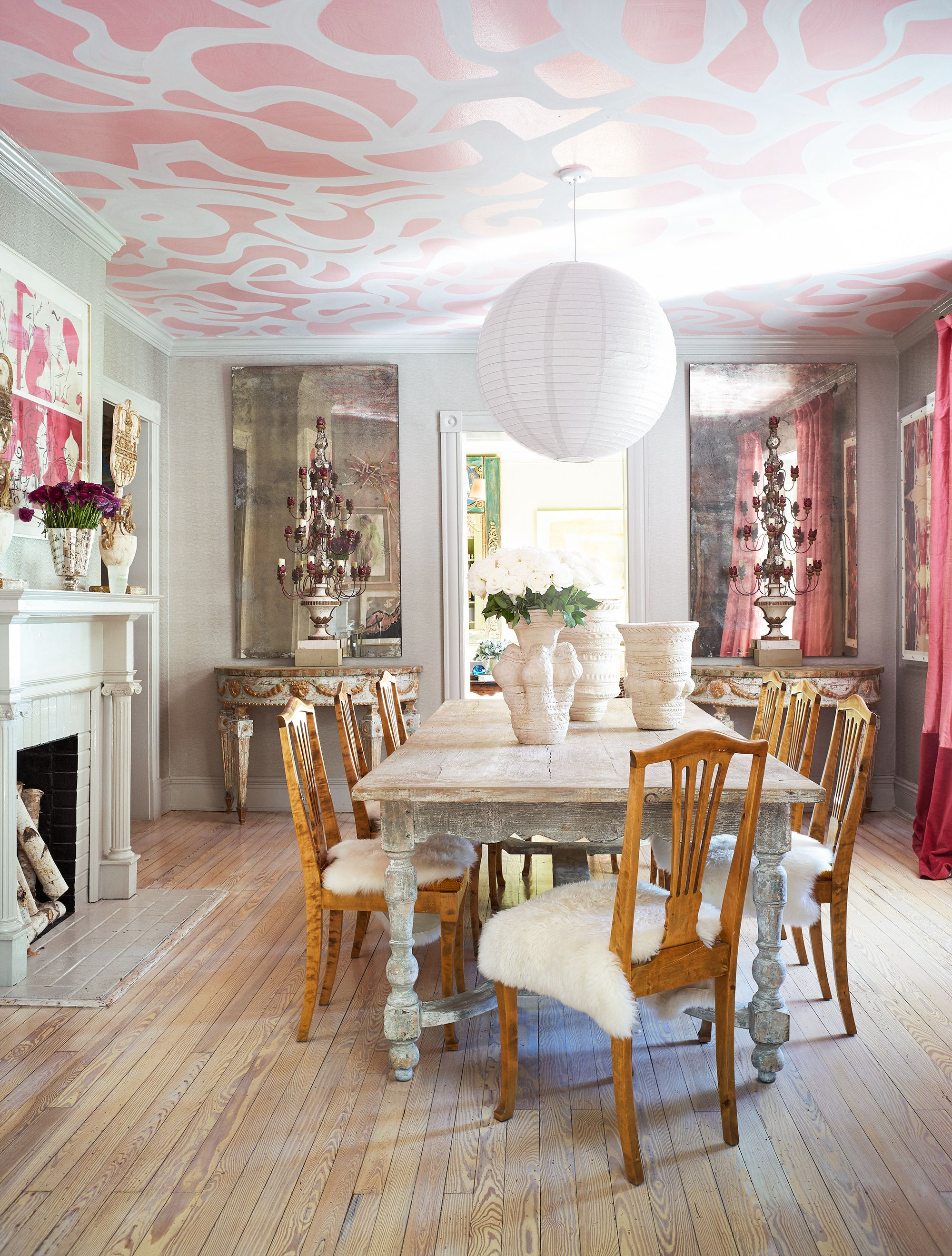 20 Painted Ceilings That Make The