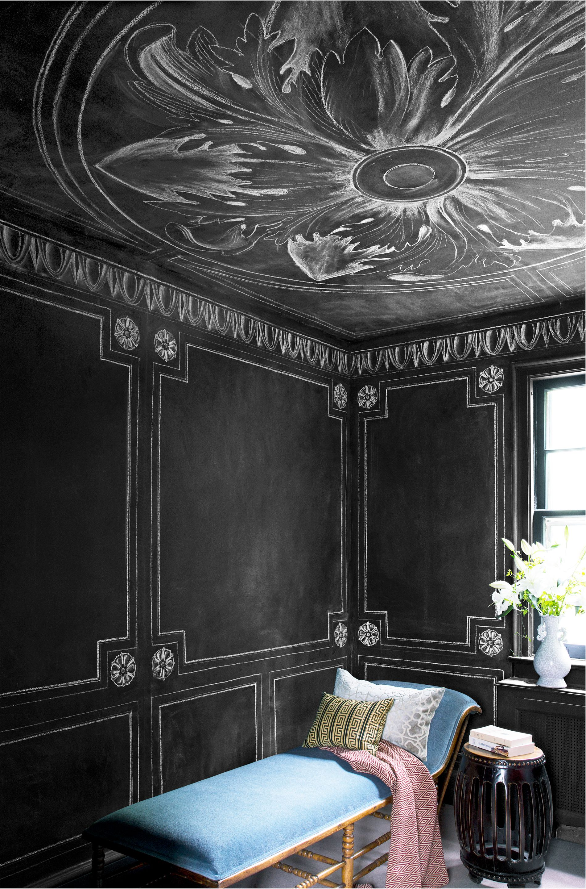 20 Painted Ceilings That Make The Entire Room So Much Cooler