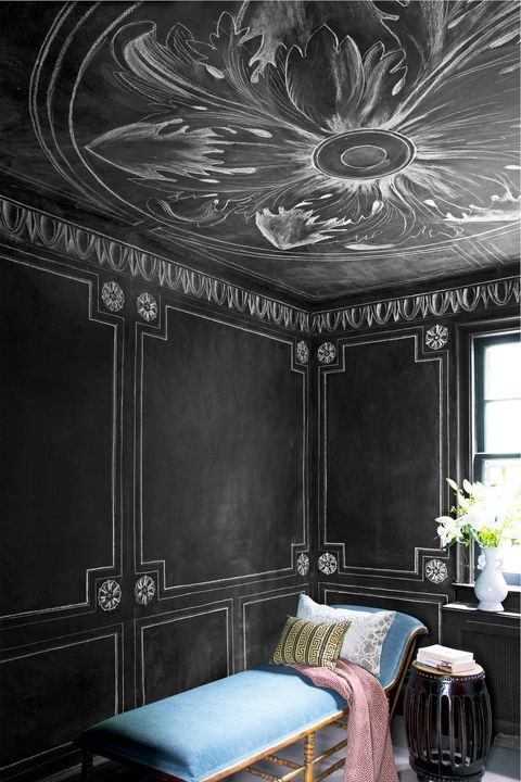 Ceiling, Room, Furniture, Interior design, Wall, Architecture, Bed, Wallpaper, Building, House,
