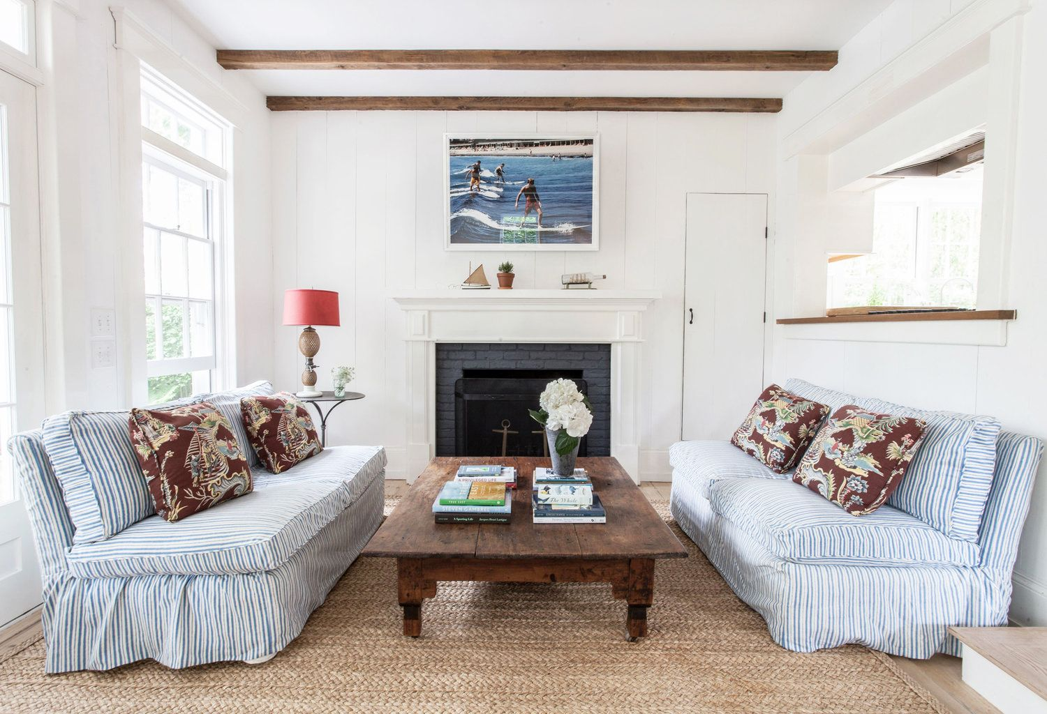 14 Ways to Transform a Fireplace With a Simple Coat of Paint