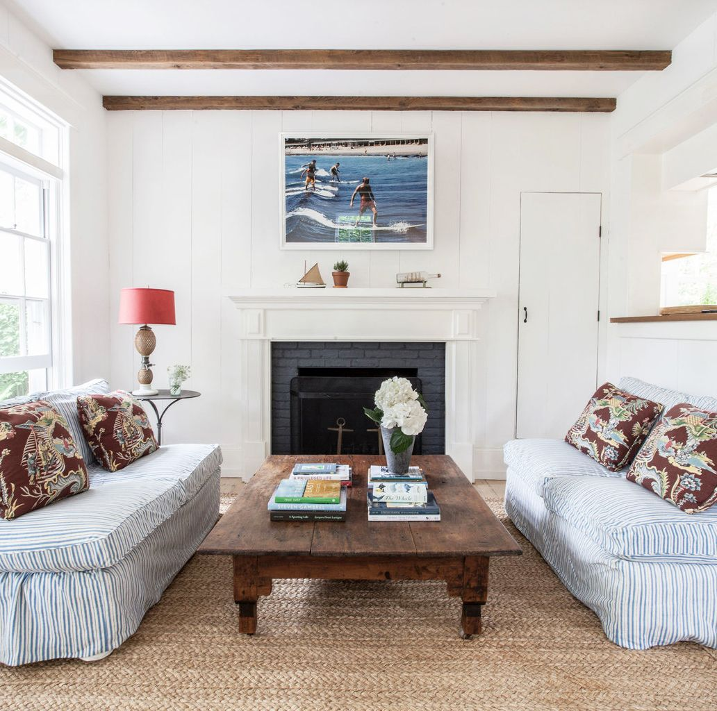 14 Chic Painted Fireplaces – Mantel Decor and Color Ideas