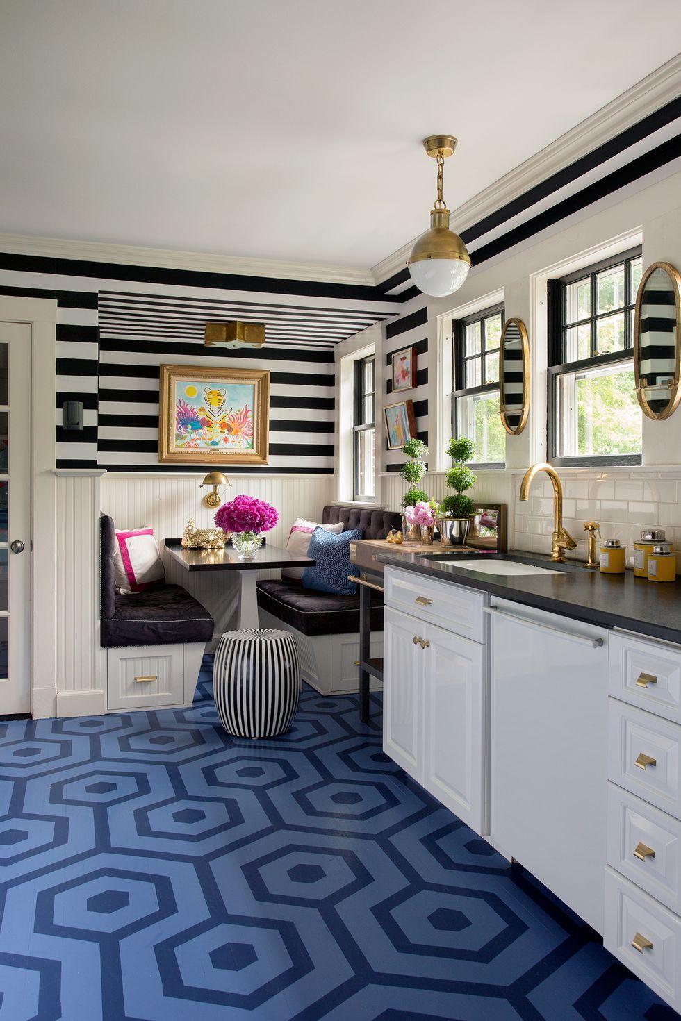 Painted Wood Floor Designs