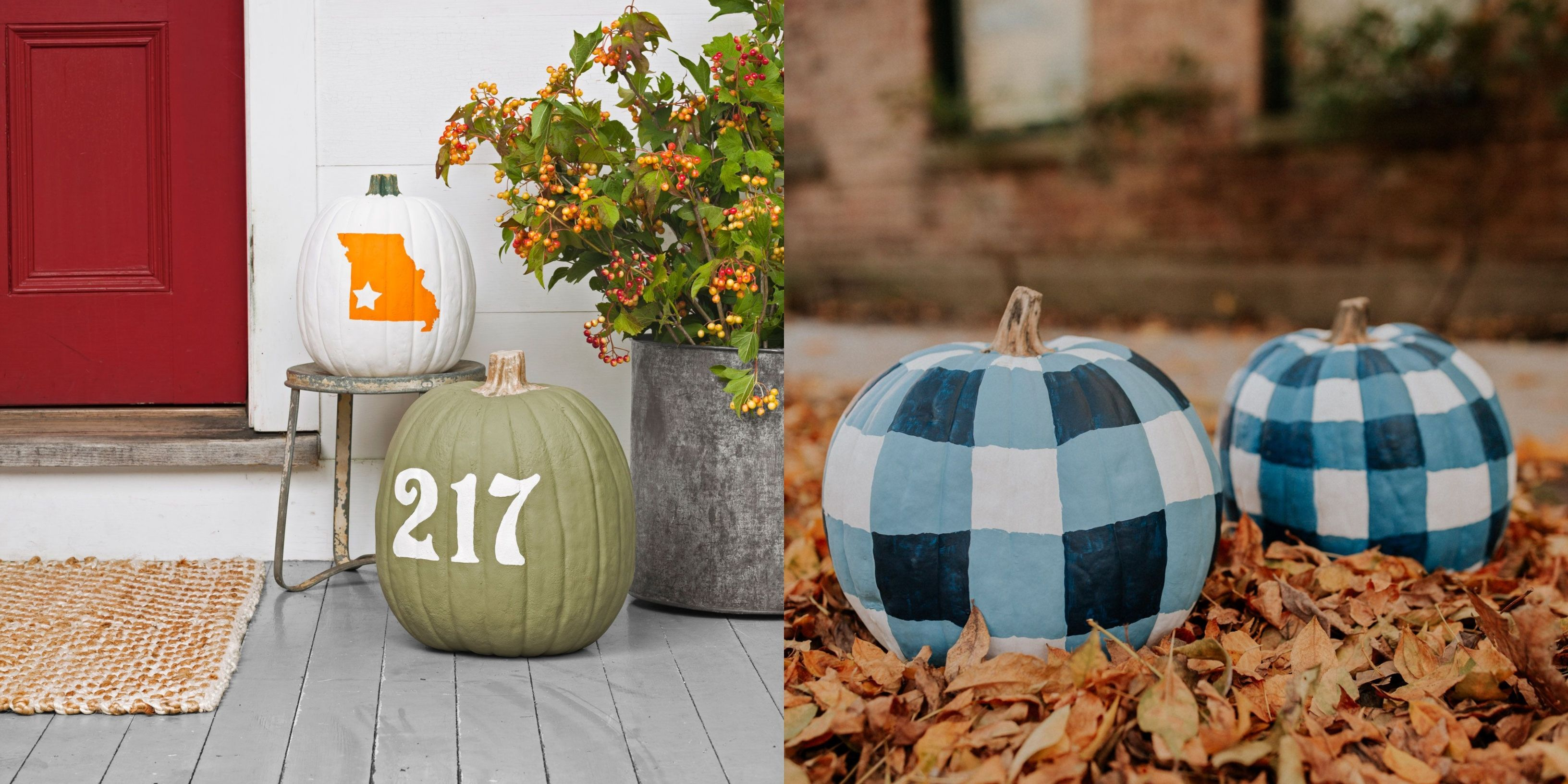 76 Painted Pumpkins For Halloween That Are So Cute, You Won't Use Carving Tools Again