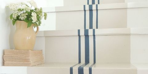 18 Pretty Painted Stairs How To Paint Stair Rails Risers