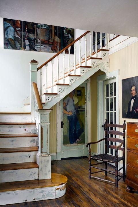 Farmhouse Stair Risers