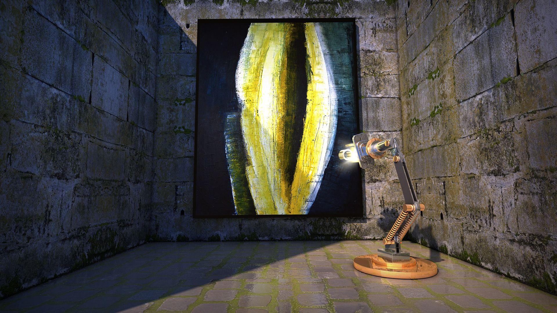 ¿Puede un robot hacer una obra de arte?