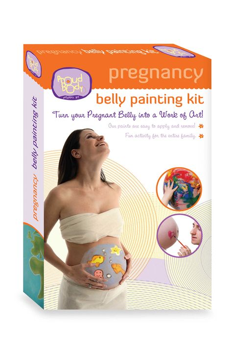 mom to be gifts pregnancy belly painting kit