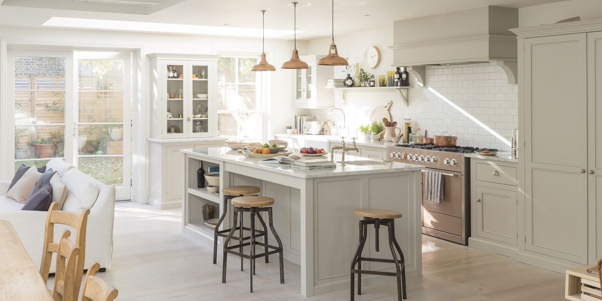 The 10 Best White Kitchen Cabinet Paint Colors for a Clean, Airy Vibe