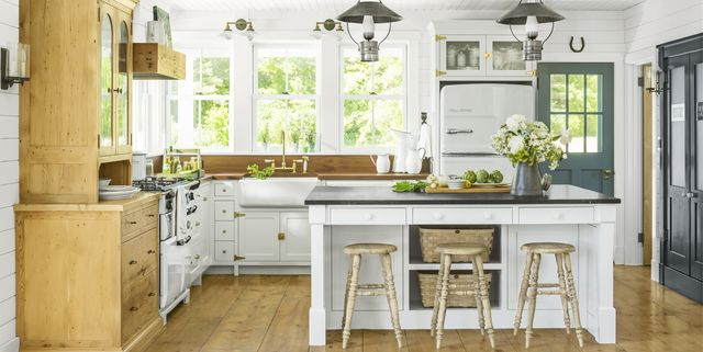 What Color Of White To Paint Kitchen Cabinets 16 Best White Kitchen CabiPaints   Painting Cabinets White